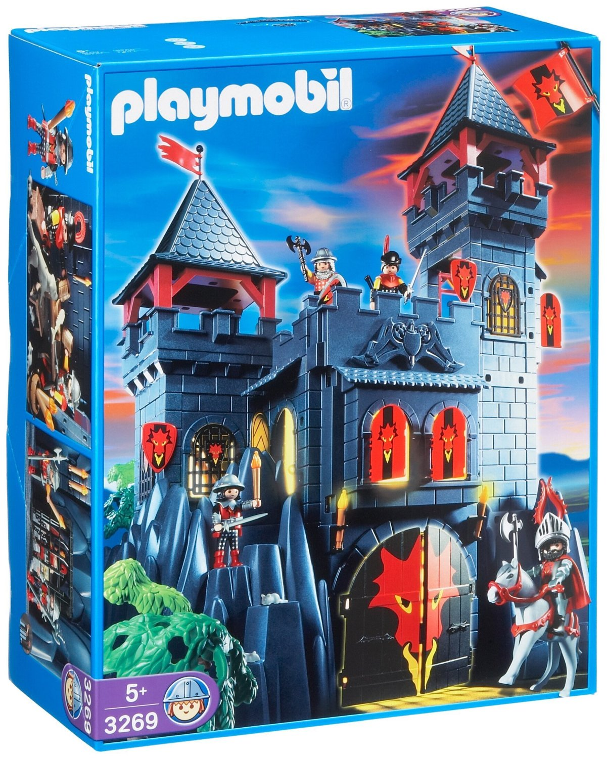 playmobil 3269 chevaliers ch teau forteresse du dragon. Black Bedroom Furniture Sets. Home Design Ideas