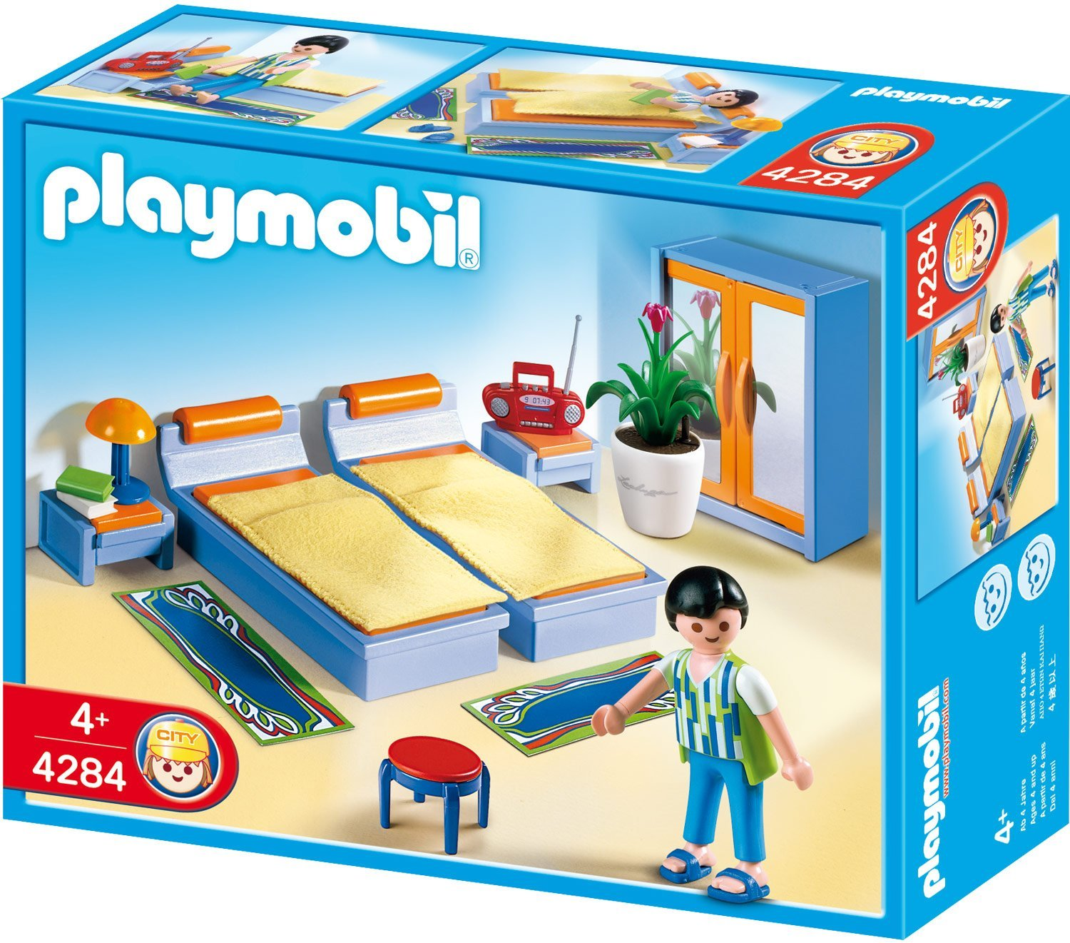 Playmobil 4284 chambre des parents - Chambre parents playmobil ...