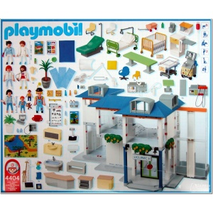 playmobil 4404 grand h pital. Black Bedroom Furniture Sets. Home Design Ideas