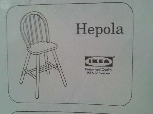Ikéa Hepola Chaise enfant